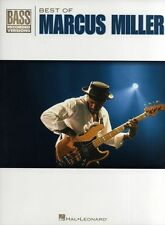 Best Of Marcus Miller Learn to Play Pop Rock BASS Guitar TAB Music Book