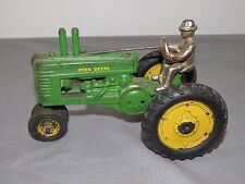 John Deere Arcade Model A Toy Tractor Beautiful with Sticker and Original Man