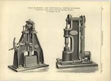 1883 Tilt Hammer And Pneumatic Power Hammer Thwaites Bros Bradford