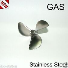 6816/3 GAS 27-30 CC MONO PROPS STAINLESS STEEL PROPELLER RC BOAT MATT