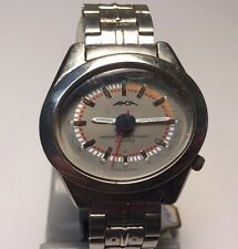 Vintage AKA Seiko Alba Mens 100m Asymmetric Oval Quartz Watch Hours~New Battery
