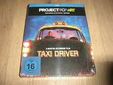 Taxi Driver Project Pop Art Exklusives Blu-Ray Steelbook NEU