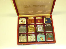 IBELO & COLIBRI MONOPOL LIGHTERS IN ORIGINAL IBELO MONOPOL CASKET -1952 -GERMANY