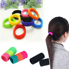 10pcs Lots Elastic Rope Ring Hairband Hair Band Ties Ponytail Holder Women Girl