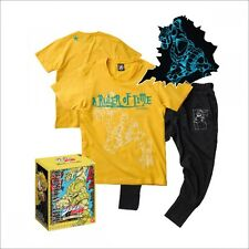 T-shirt & Sweats Pants Set JoJo's Bizarre Adventure The World Dio Stand Yellow L