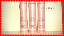 VICTORIA'S SECRET SO SEXY BALANCE SHAMPOO FOR NORMAL HAIR 10 FL OZ EACH (3)