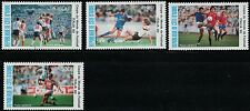 Ivory Coast SC C124-C127 World Cup Soccer Championship,Italy-VariousPlays MNH'90