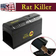 New Electronic Mouse Rat Rodent Killer Electric Trap Zapper Pest Control US BY