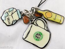 Strap Starbucks Phone Cell Taiwan New Limited Coffee Keychain Cup Via Only Sign