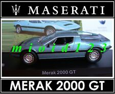 1/43 - Maserati 100 Years Collection : MERAK 2000 GT [1977] - Die-cast