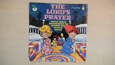 Peter Pan Records THE LORD'S PRAYER 45rpm 60s
