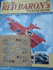 BUILD THE RED BARON'S FIGHTER PLANE FOKKER DR1  HACHETTE  ISSUE 42  NEW SEALED
