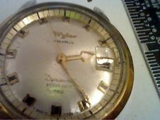 VINTAGE HEAVY DUTY 660 WYLER DYNAWIND DATE WATCH 4U2FIX