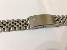 NEW OMEGA STAINLESS STEEL GENTS WATCH STRAP.20MM,CURVED LUGS