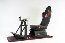 RaceRoom RR3055 Racing Cockpit-Bundle (Racing Game Seat - Simulator - Gamechair)