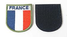 Patch TRICOLORE écusson OPEX mission Armée Française brodé tissé FRANCE