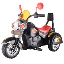 3 Wheel Harley Style Kids Ride On Motorcycle 12V Battery Powered Electric Toy