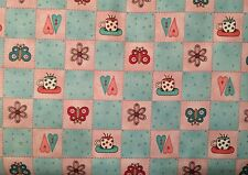 Crafts Sewing Fabric Red Rooster Nice People Nice Things Squares (4384) BTY
