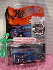 2014 Club Car Exclusive DRAG DAIRY + Button✿Spectraflame Blue✿Redline✿Hot Wheels