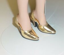 "Doll Shoes, Monique  MET GOLD ""Easy to Wear"" Fit Tonner American Model SALE!"