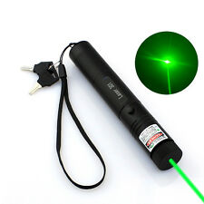 1* Green Laser Pointer Pen 1mw 532nm Adjustable Could Cool