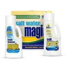 Natural Chemistry 07404 Salt Water Pool Cell Cleaner Magic Monthly Kit