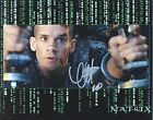 CLAYTON WATSON Signed 10x8 Photo THE MATRIX RELOADED COA