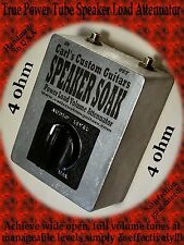 4 ohm 50watt Speaker Soak true guitar amp tube brake/load mass Volume Attenuator
