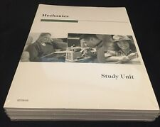 Mechanics Study Unit 1998 Education Direct Complete NEW Sealed