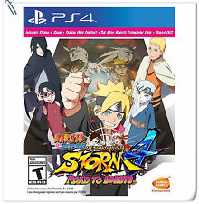 PS4 Naruto Ultimate Ninja Storm 4 Road to Boruto Games Bandai Namco