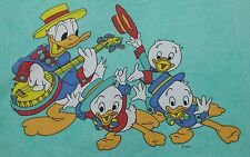 Disney ropa de cama Bedding bedlinen Donald Duck vintage 70s 80s Fabric