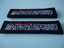 MAZDASPEED Seat Belt Cover Shoulder pads FOR MAZDA