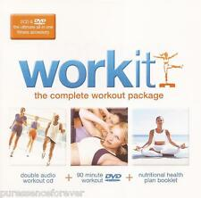 WORK IT!: THE COMPLETE WORKOUT PACKAGE (UK 50 Tk Double CD Album/R2 DVD Set)