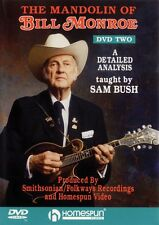 The Mandolin of Bill Monroe DVD Two: A Detailed Analysis by Sam Bush D 000641733