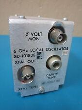 Harris Farinon SD-101808 OPT 015 6 GHz Local Oscillator 107.913167 MHz