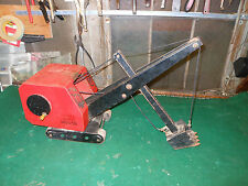 Vintage Antique Crane Huge Model Sand Digger Trencher Steel Sparks Bourne Handy