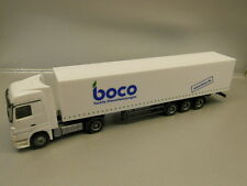 ** Herpa 268288 Mercedes Benz Actros LH Box Semitrailer HTS  boco 1:87 HO Scale