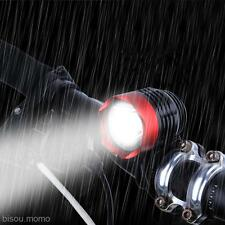 Hot Waterproof T6 USB LED Bike Lamp Bicycle Cycling Light Headlamp Headlight Red