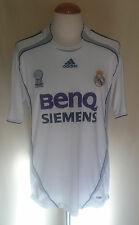 Camiseta Futbol Real Madrid 2006-2007 BENQ SIEMENS