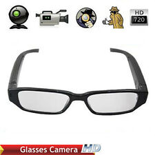 HD 720P Glasses Hidden Spy Camera Security DVR Video Recorder Camcorder Hot