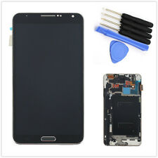 Display Lcd + Touch Screen Glass Ricambio Per Samsung Galaxy Note 3 N9005 Nero
