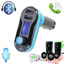 Wireless Bluetooth FM Transmitter MP3 Player Car Kit Charger for iPhone7 Samsung