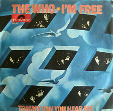 "7"" 1969 GERMAN PRESS RARE VG+ ! THE WHO : I´m Free"