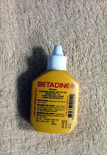 30CC BETADINE POVIDONE TINCTURE OF IODINE A MUST FOR FIRST AID FOR CUTS & WOUNDS