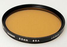 (PRL) TAMRON 55 mm 85A FILTRO FILTER FILTRU FILTRE FILTAR PHOTO BLACK WHITE B/N
