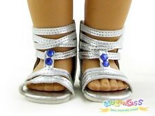 Doll Shoes fits 18'' American Girl Sliver Punk Sandals wulang55