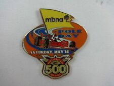 2005 Indianapolis 500 MBNA Pole Day Collector Sponsors Lapel / Hat Pin