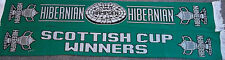 HIBERNIAN FC SCOTTISH CUP WINNERS 2016 SCARF