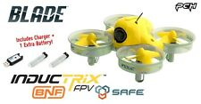 Blade Inductrix FPV BNF RC Quadcopter Drone w/SAFE + 2 Batteries/Charger BLH8580