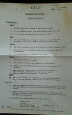Copy DDAY WW2 Orders for Operation Hard tack 24 to Free French Commandos Jan 44